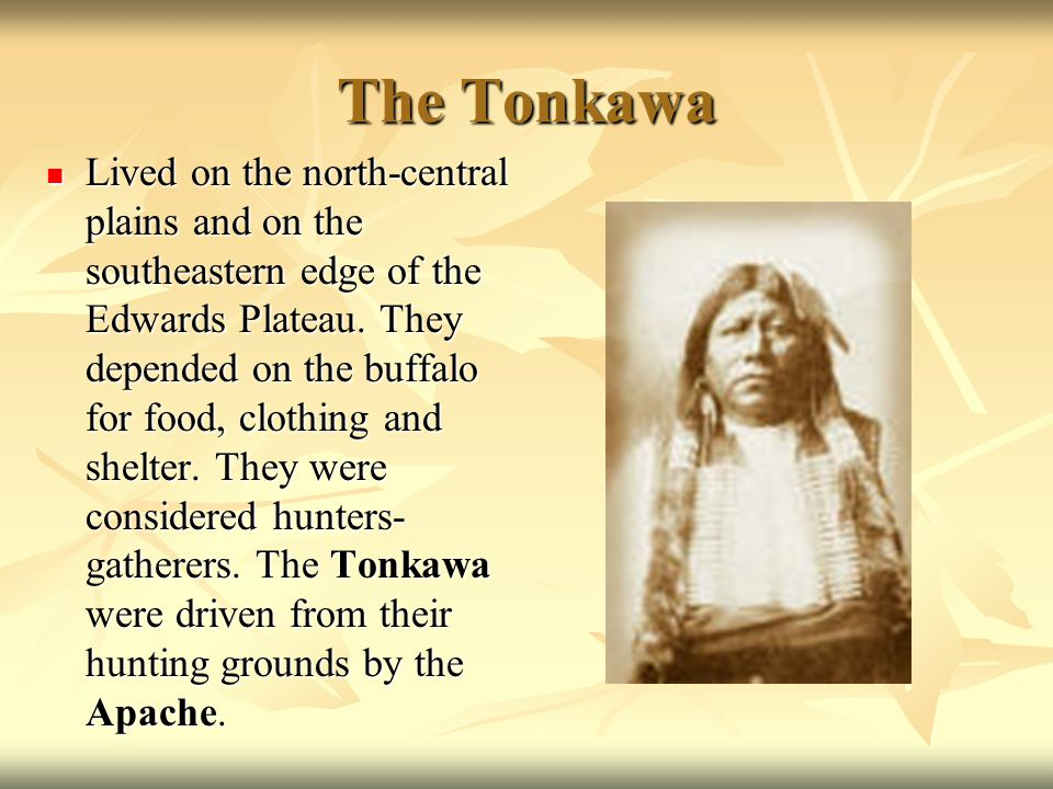 The Tonkawa