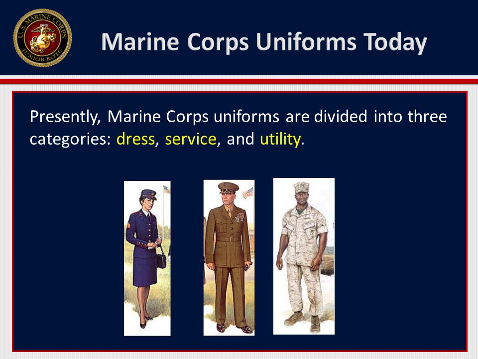 Marine Corps Uniforms Today