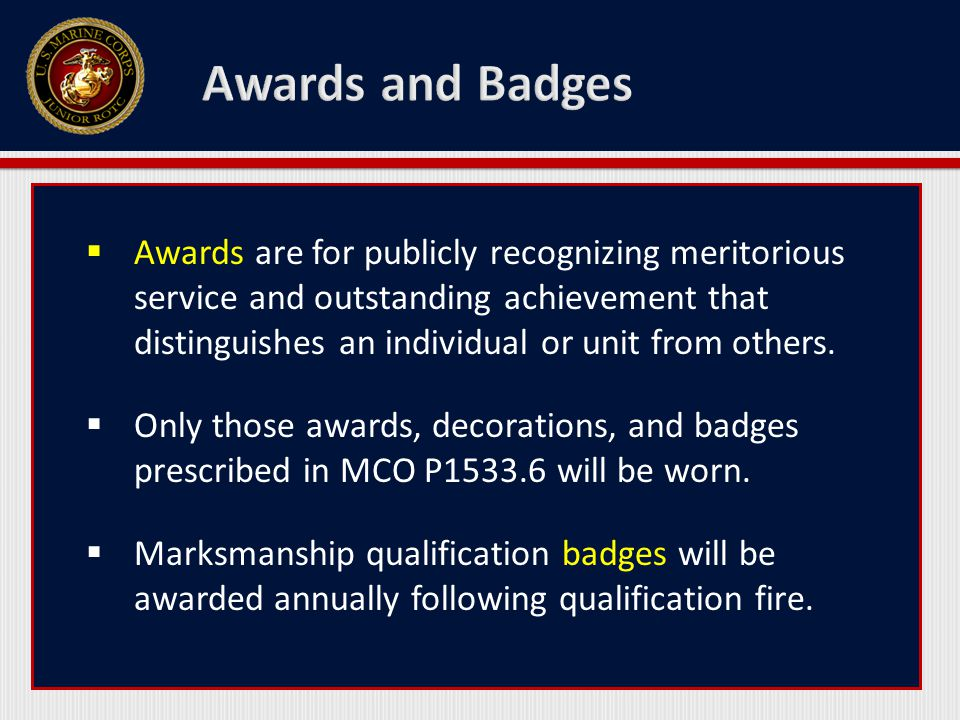 Awards and Badges