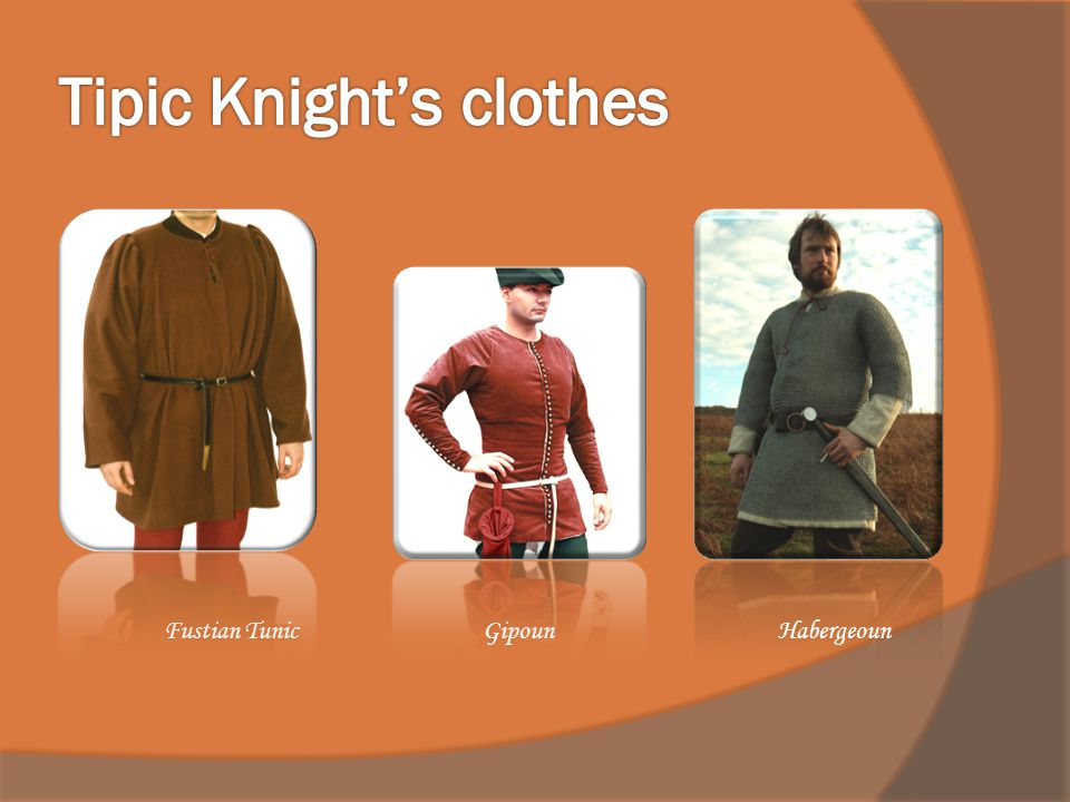 Tipic Knight's clothes