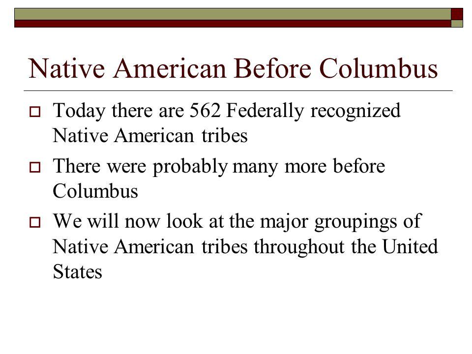 Native American Before Columbus