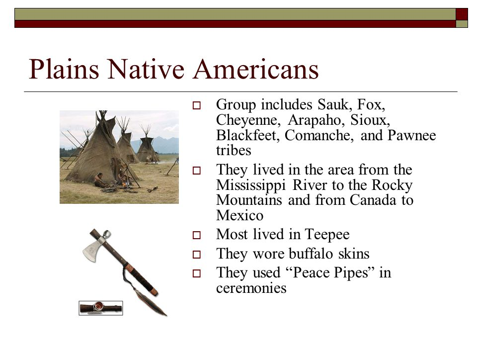 Plains Native Americans