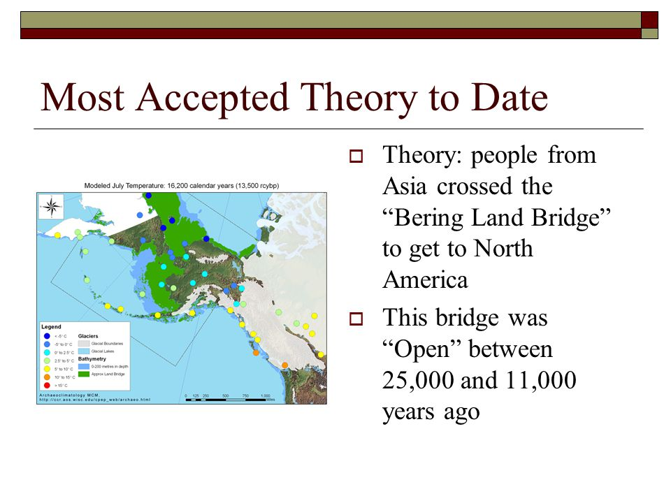 Most Accepted Theory to Date