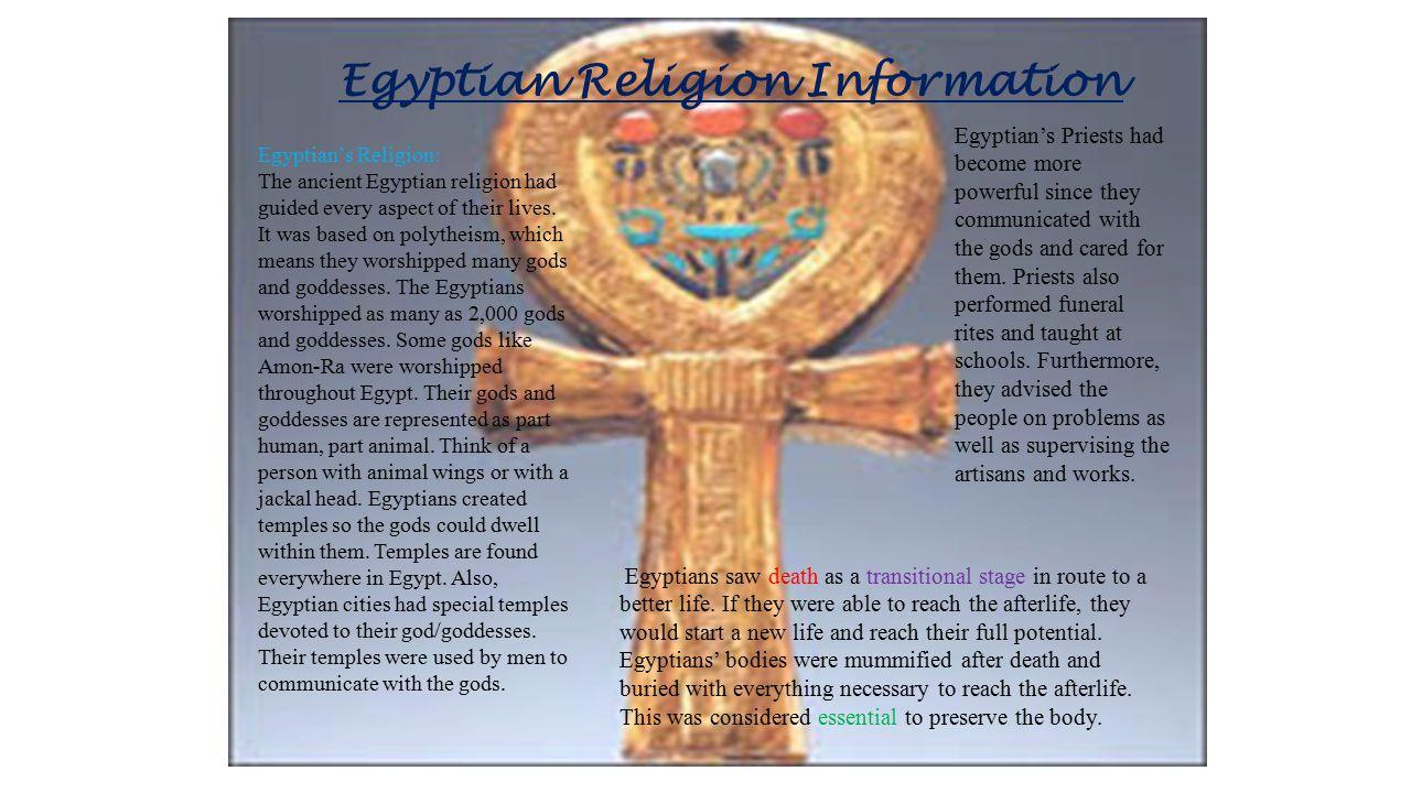Egyptian Religion Information