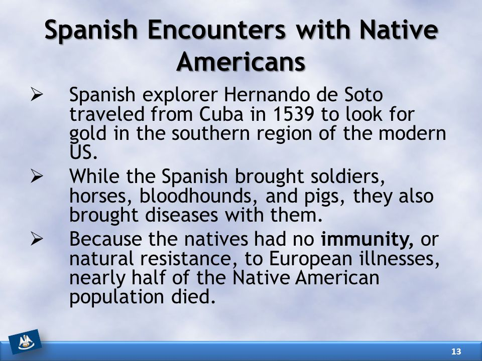 Spanish Encounters with Native Americans