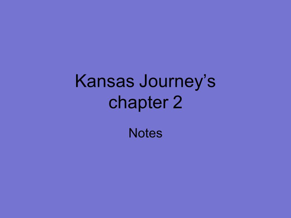 Kansas Journey's chapter 2