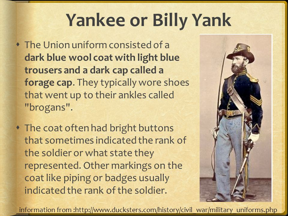 Yankee or Billy Yank