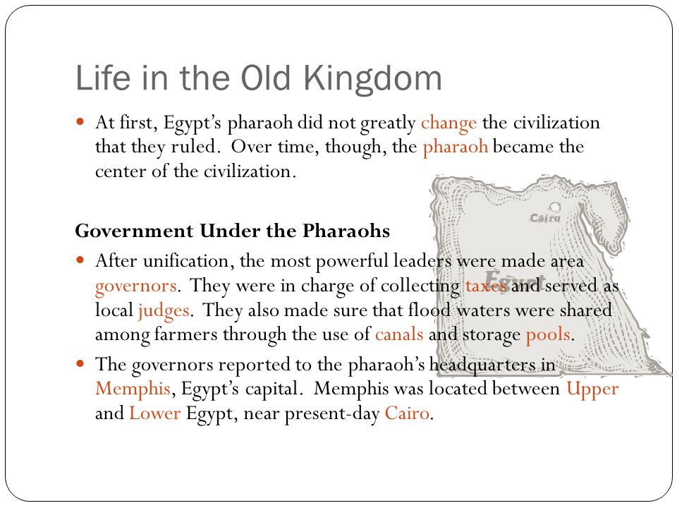 Life in the Old Kingdom