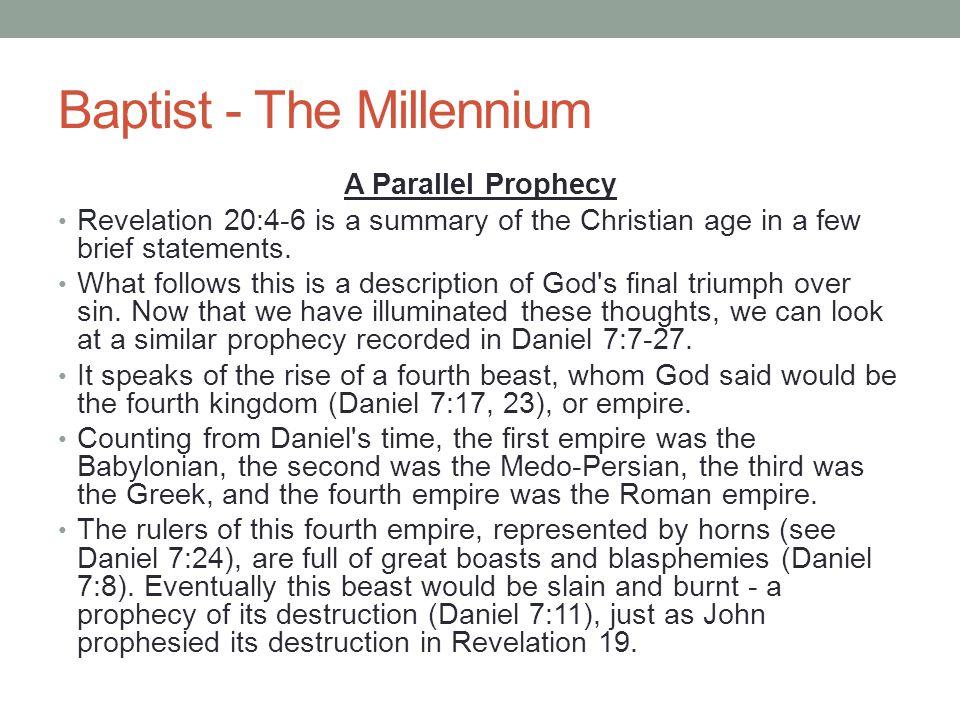 Baptist - The Millennium