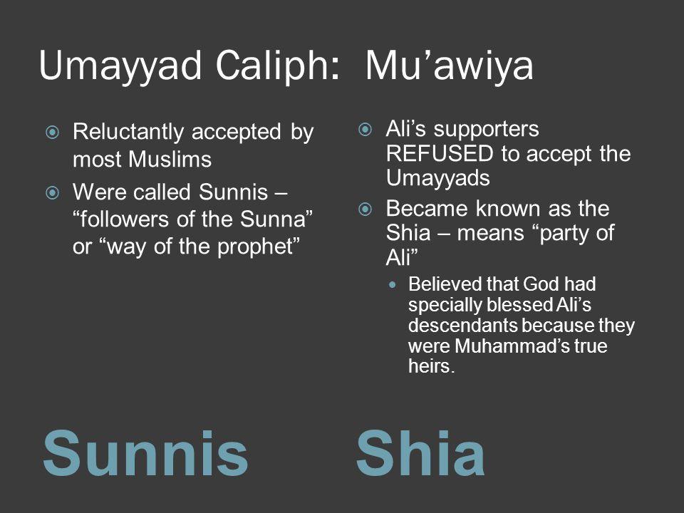 Umayyad Caliph: Mu'awiya