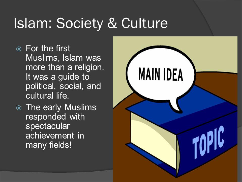 Islam: Society & Culture