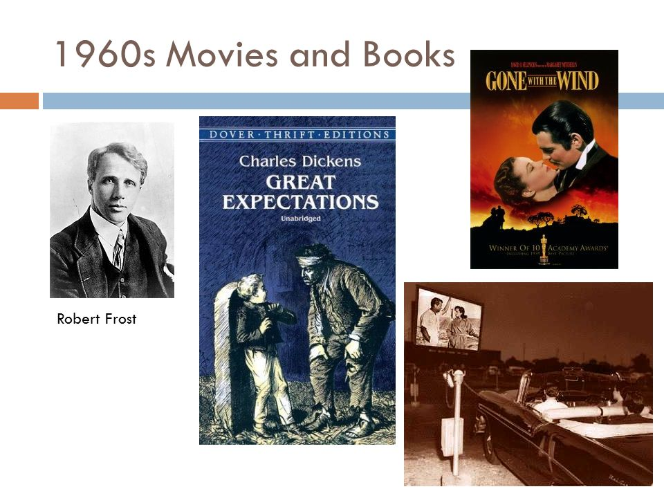 1960s Movies and Books Robert Frost