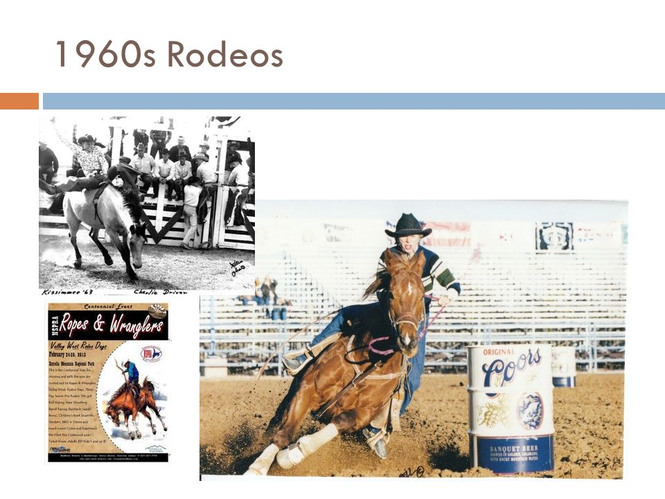 1960s Rodeos