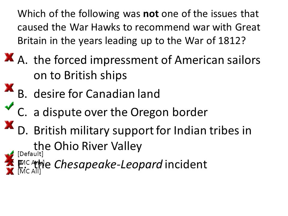 the forced impressment of American sailors on to British ships