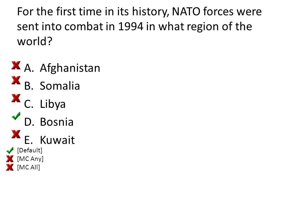 For the first time in its history, NATO forces were sent into combat in 1994 in what region of the world