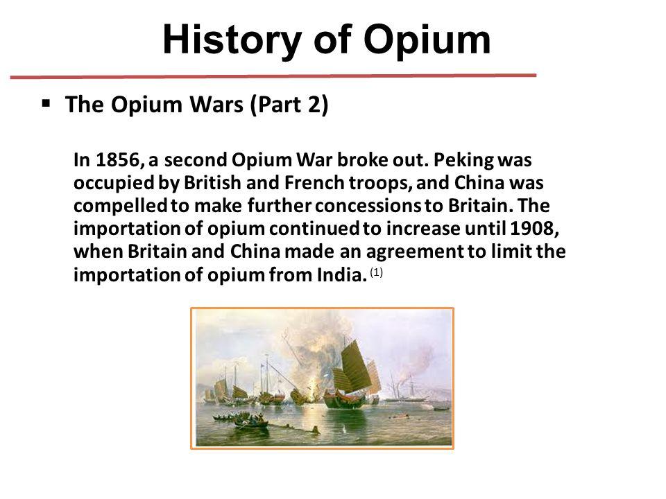 History of Opium The Opium Wars (Part 2)