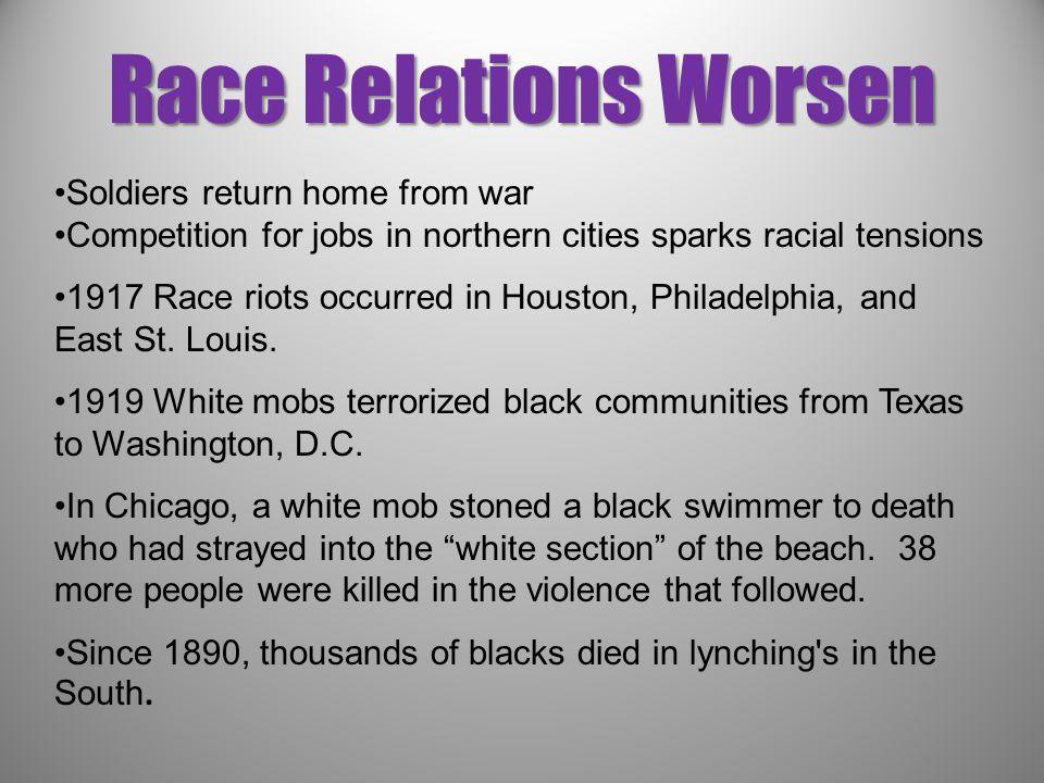 race relations