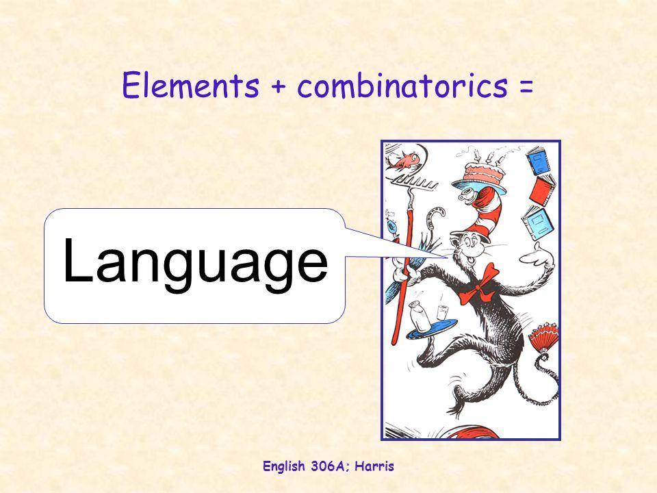 Elements + combinatorics =