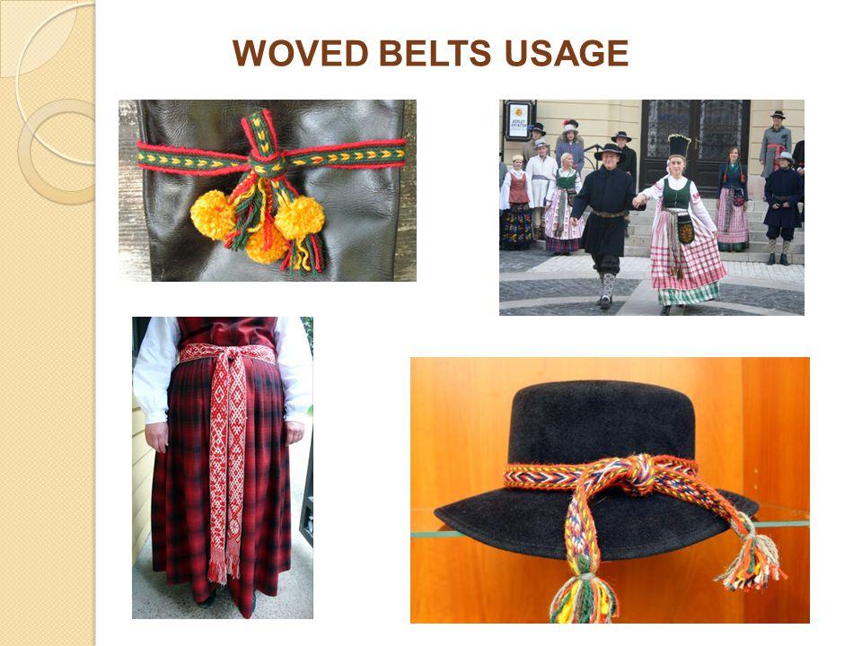 WOVED BELTS USAGE