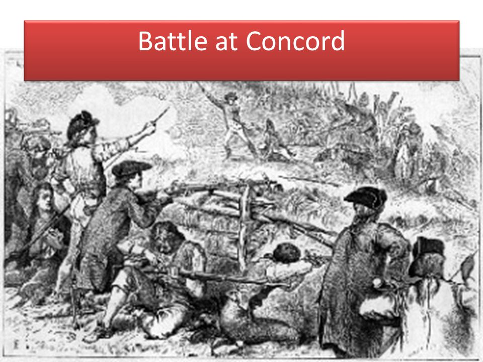Battle at Concord