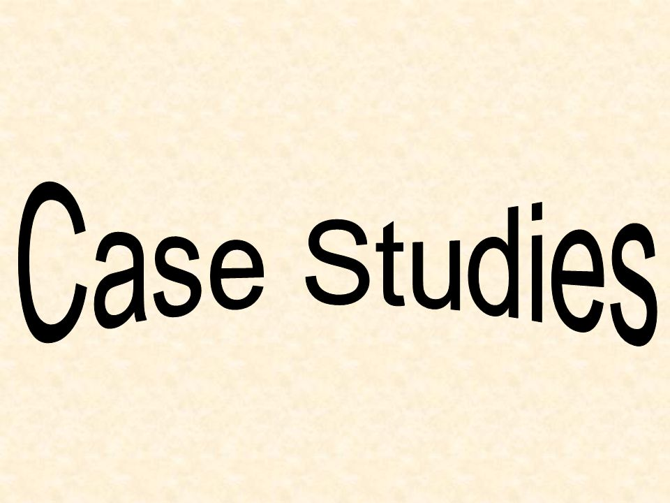 Case Studies 9