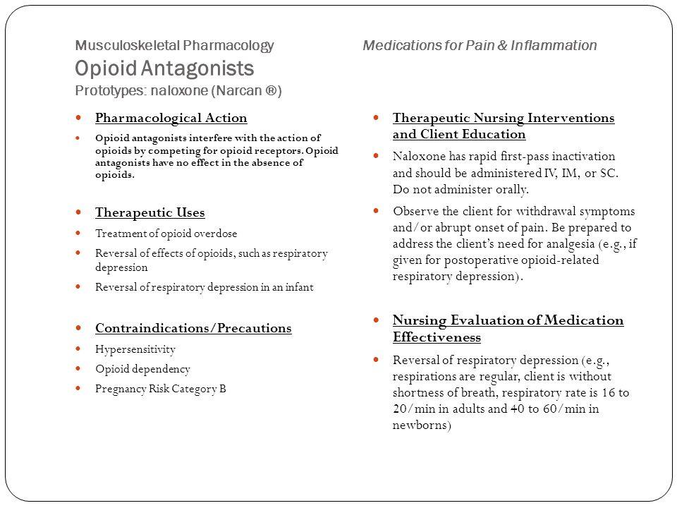 Nursing Evaluation of Medication Effectiveness