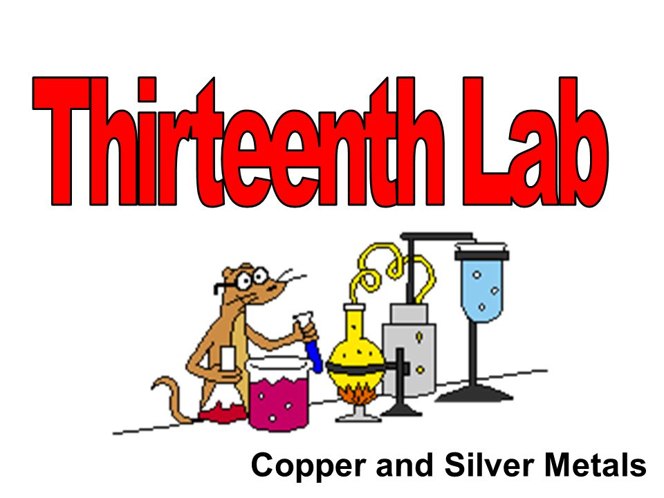 Thirteenth Lab Copper and Silver Metals