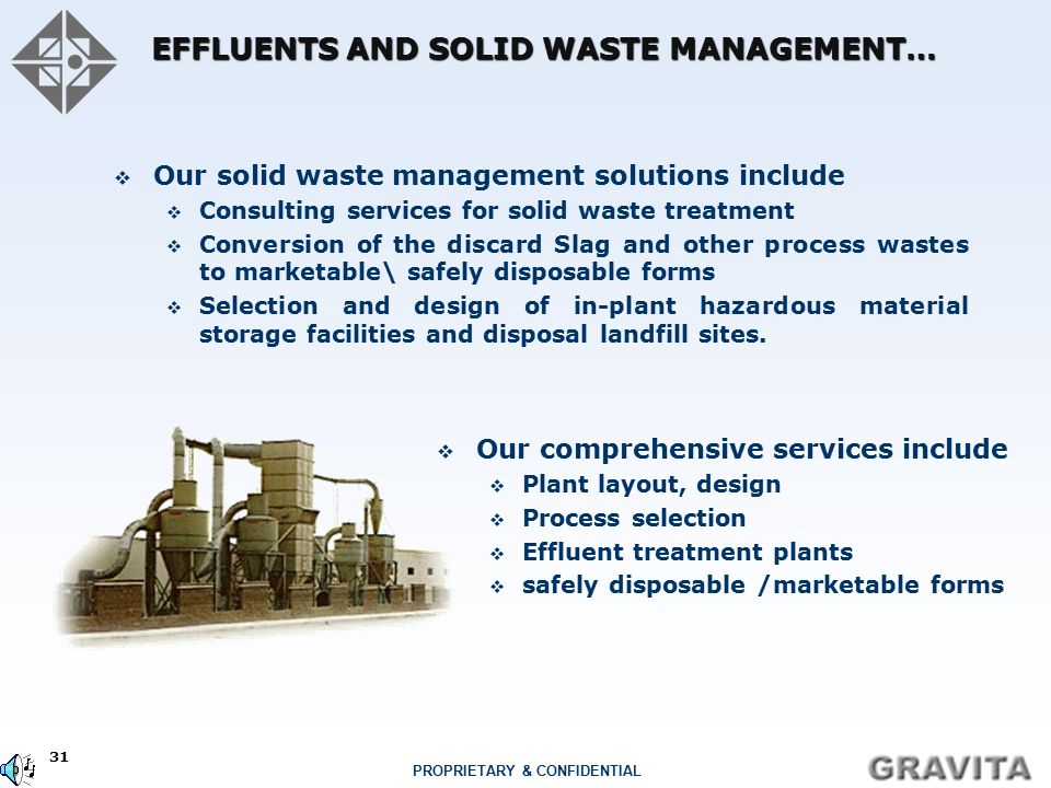 EFFLUENTS AND SOLID WASTE MANAGEMENT…