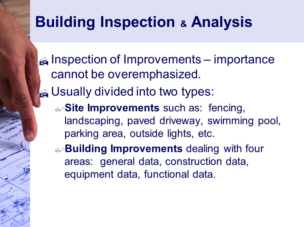 Building Inspection & Analysis