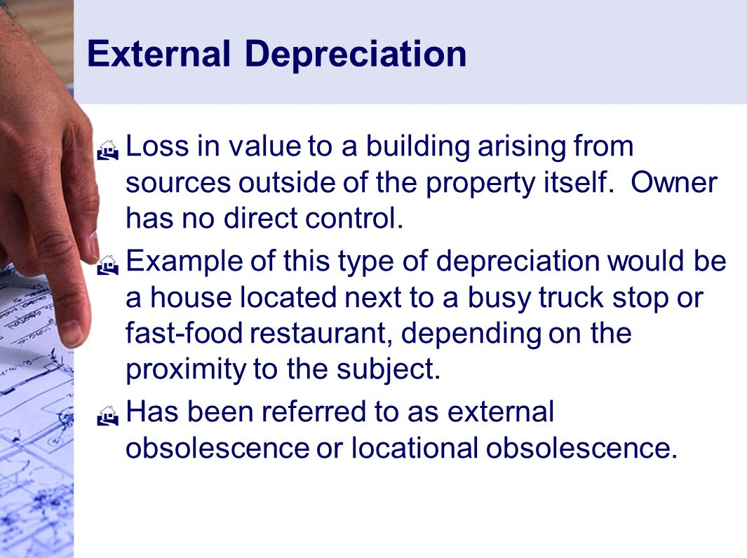 External Depreciation