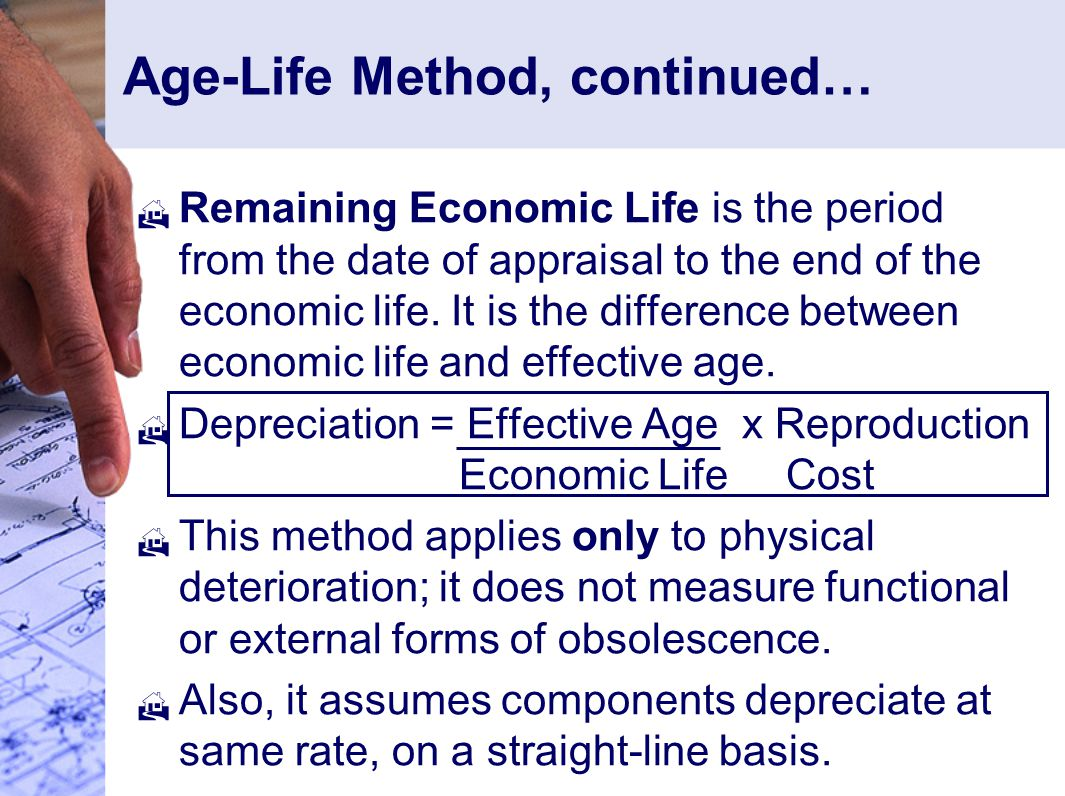 Age-Life Method, continued…