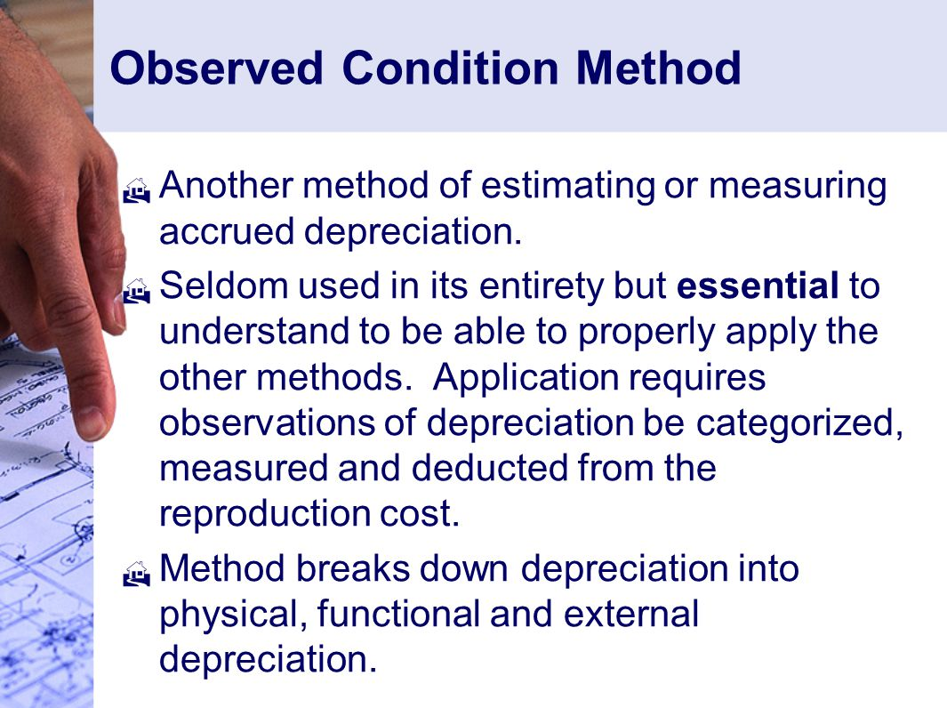Observed Condition Method