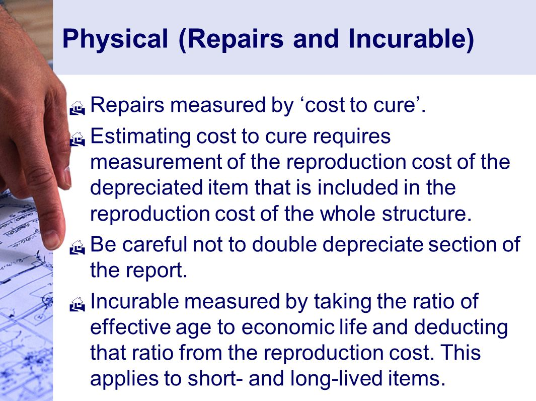 Physical (Repairs and Incurable)
