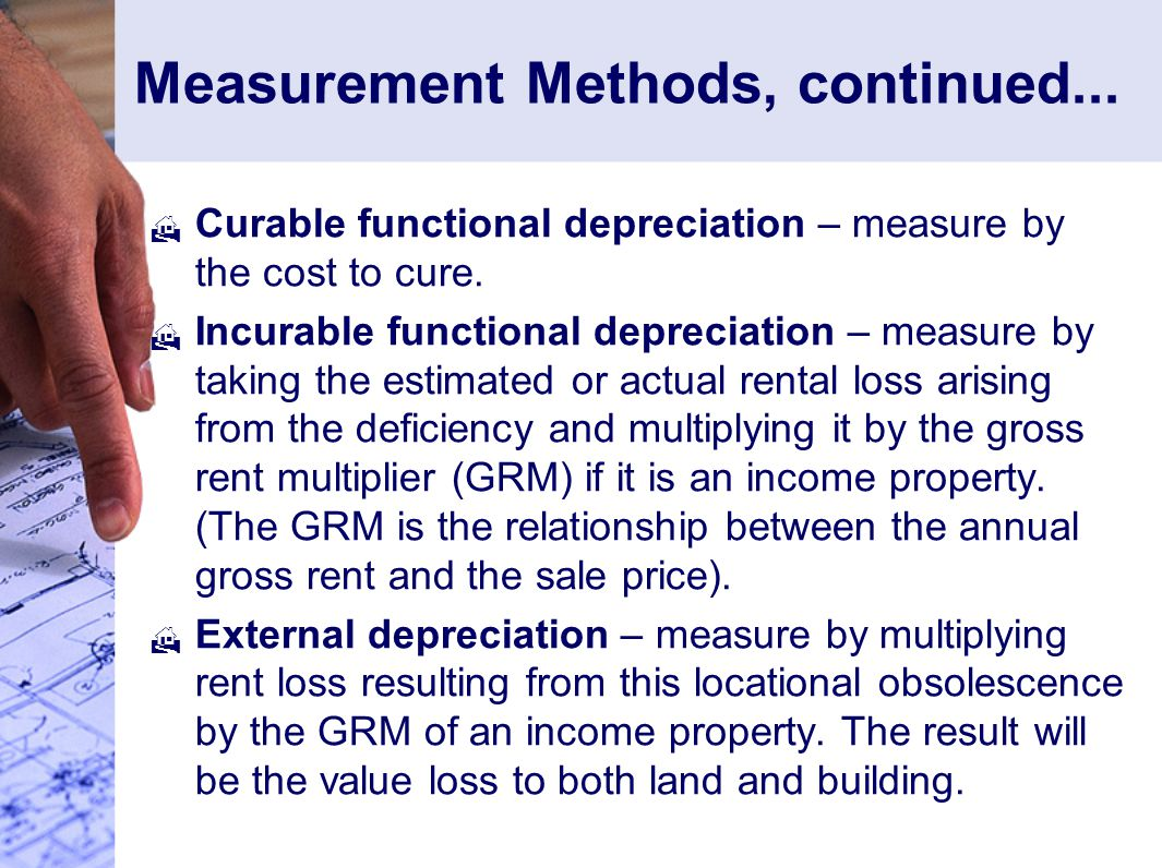 Measurement Methods, continued...