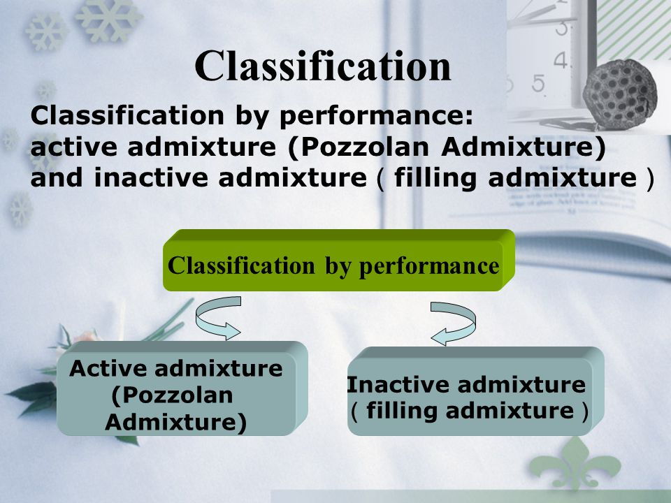 Classification by performance