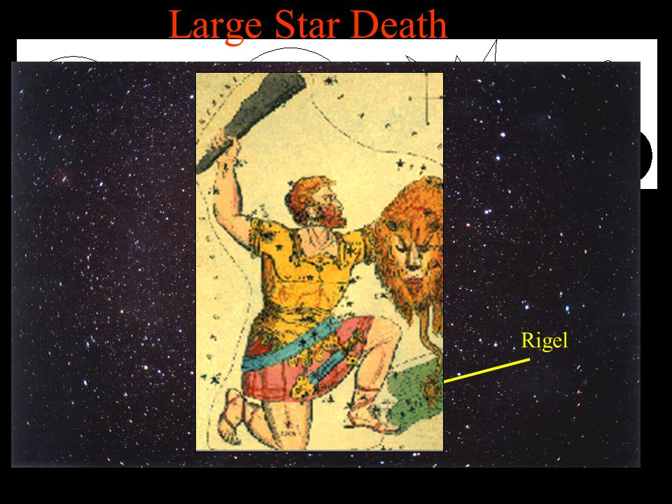 Large Star Death Large MSS