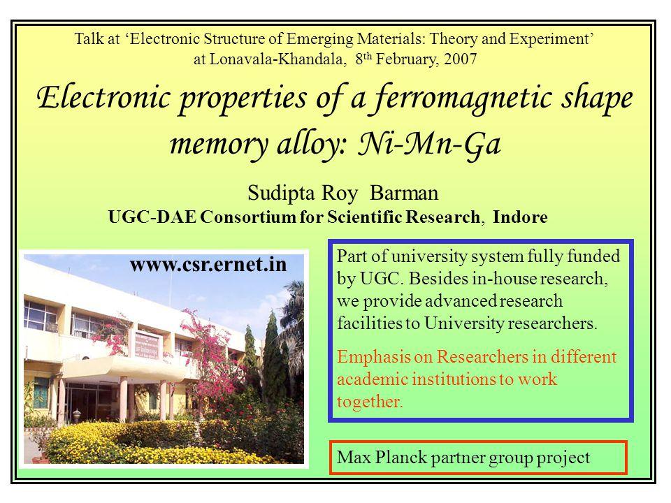 Electronic properties of a ferromagnetic shape memory alloy: Ni-Mn-Ga