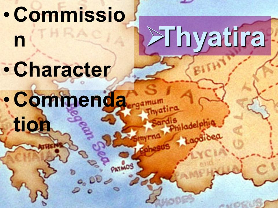 Commission Character Commendation Thyatira