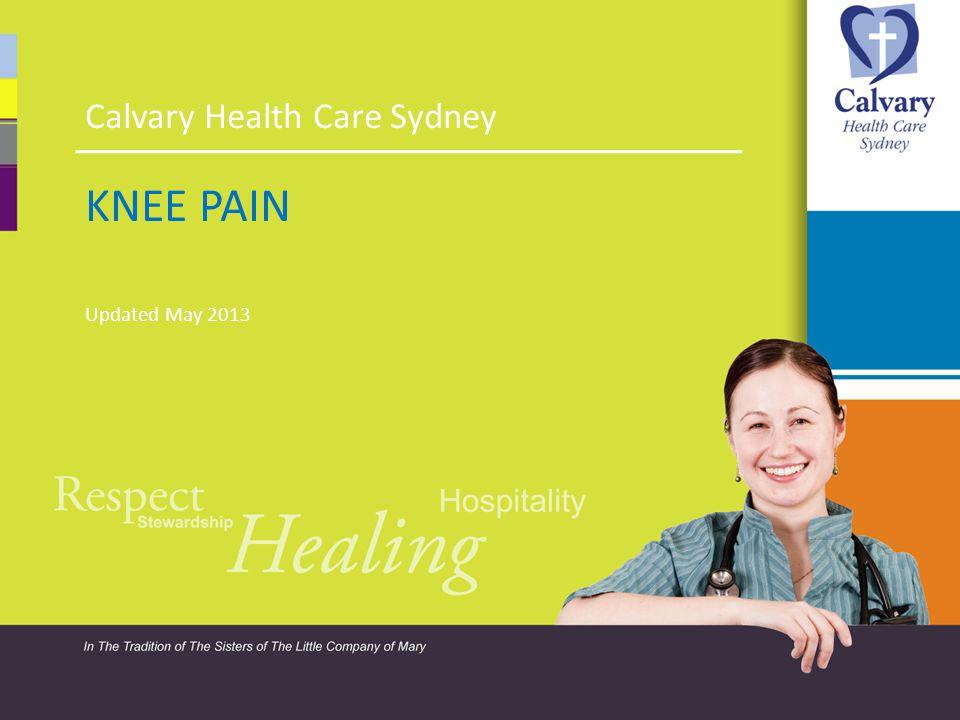 Calvary Health Care Sydney