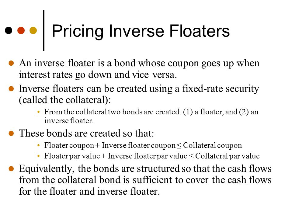 Pricing Inverse Floaters