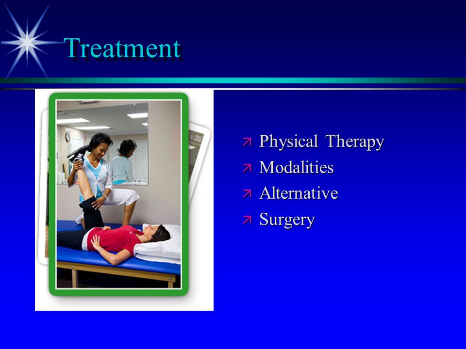 Treatment Physical Therapy Modalities Alternative Surgery