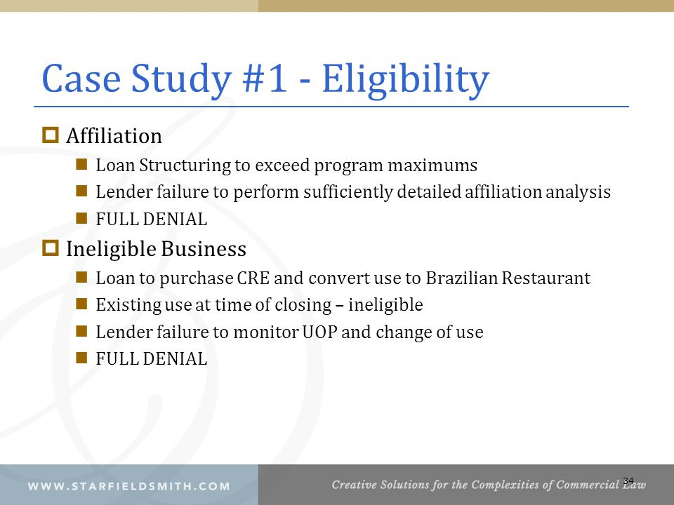 Case Study #1 - Eligibility