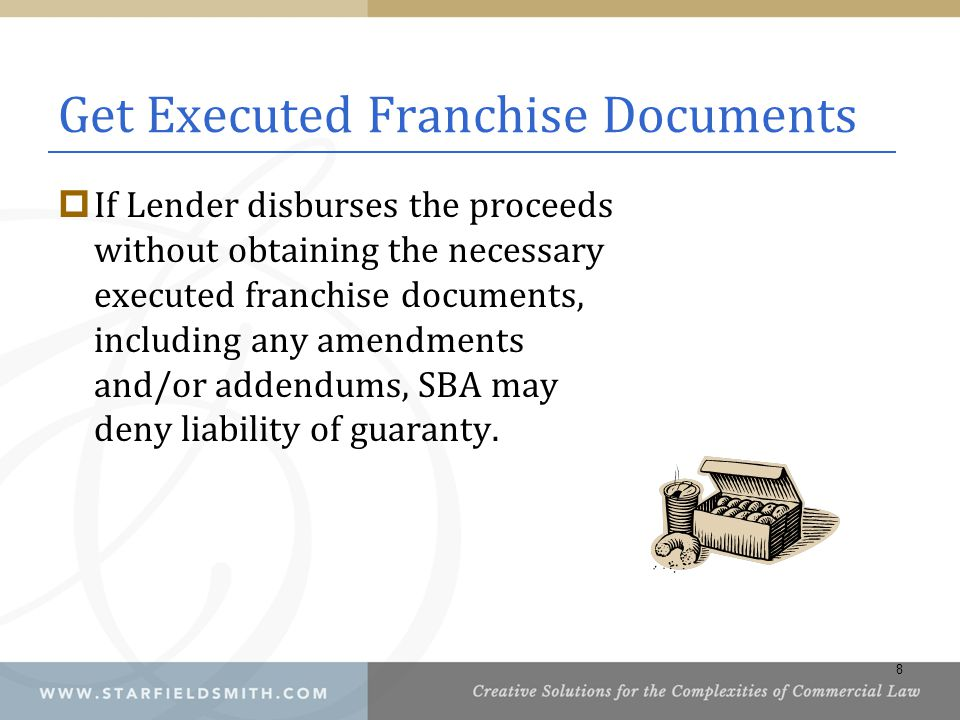 Get Executed Franchise Documents