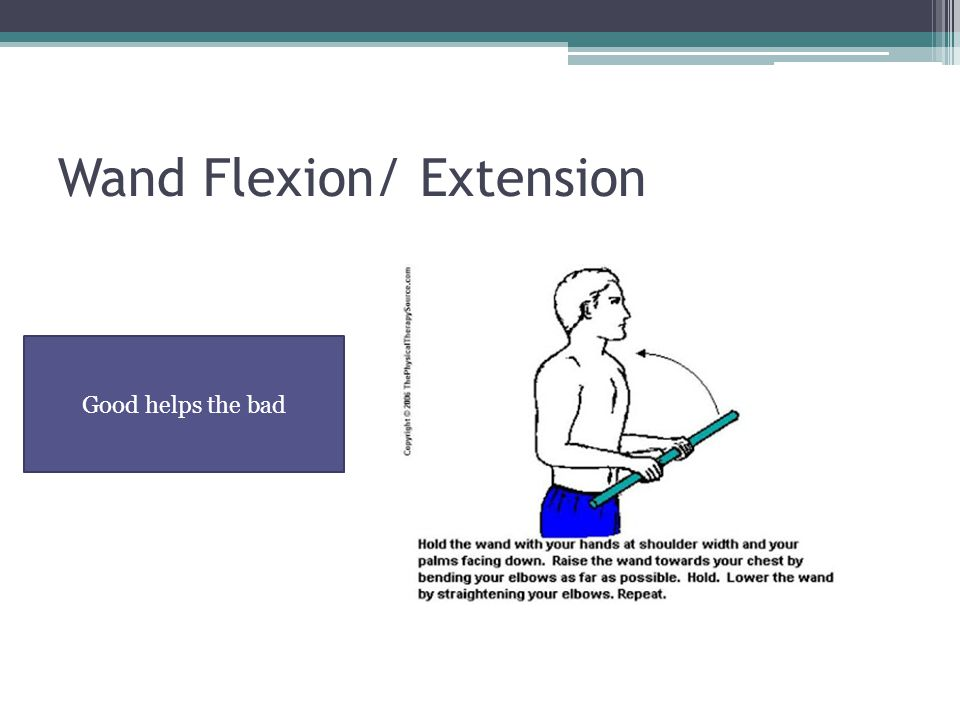 Wand Flexion/ Extension
