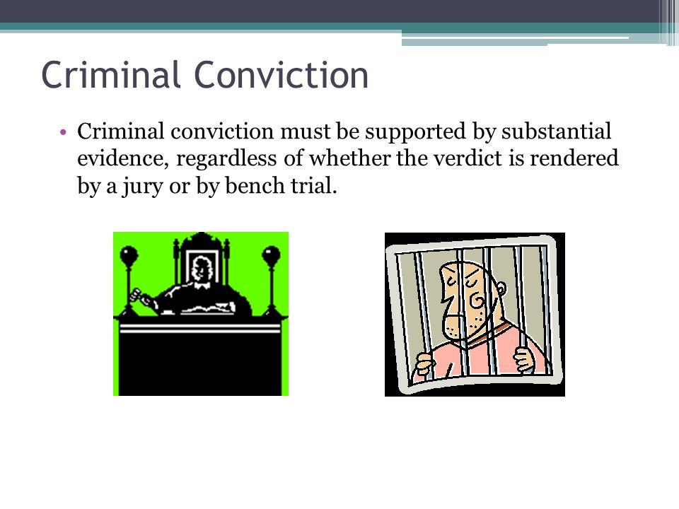 Criminal Conviction