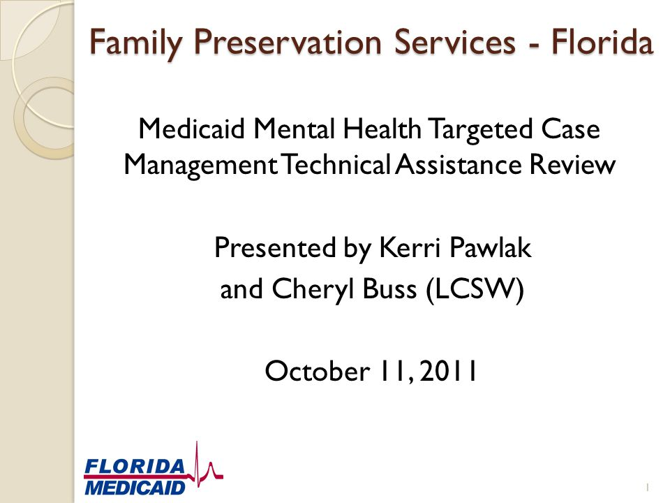 Family Preservation Services - Florida