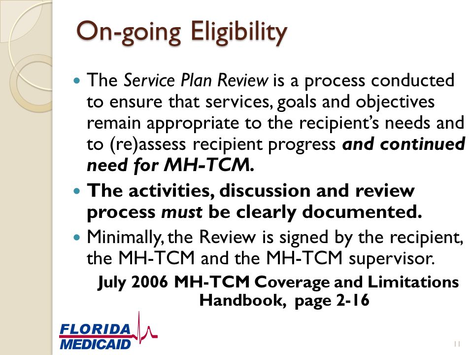 July 2006 MH-TCM Coverage and Limitations Handbook, page 2-16