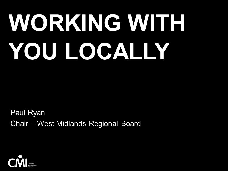 Working with you locally