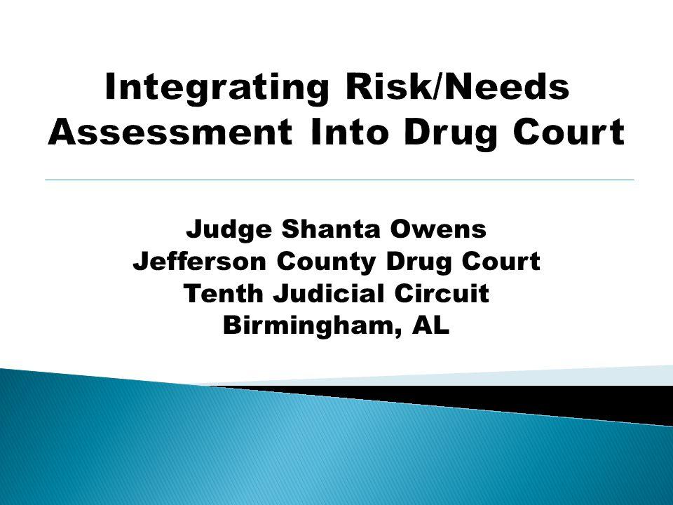 Integrating Risk/Needs Assessment Into Drug Court