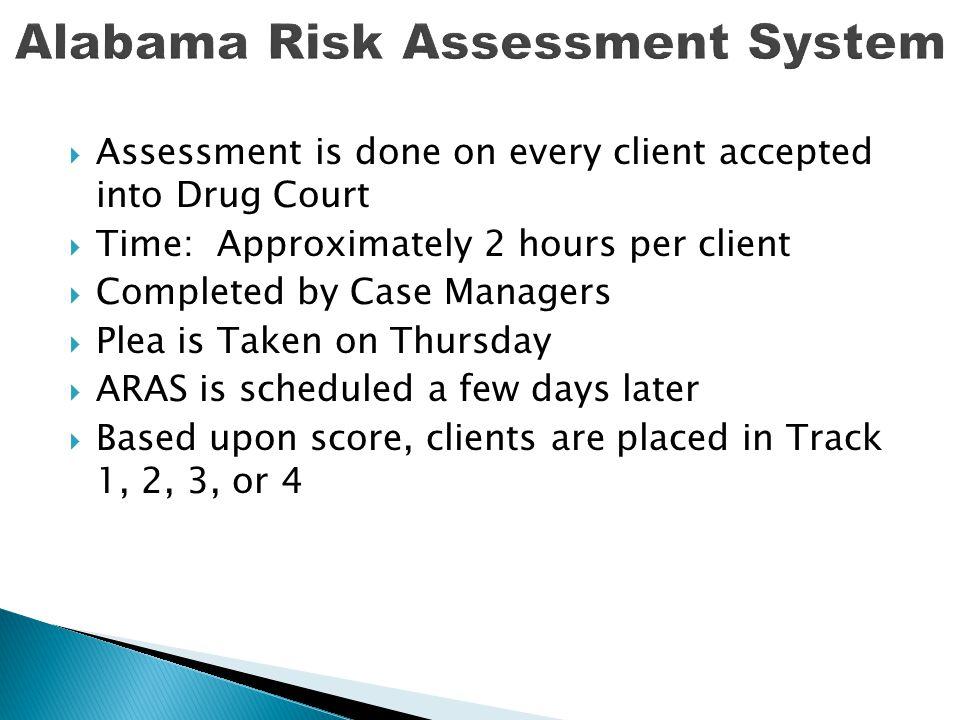 Alabama Risk Assessment System